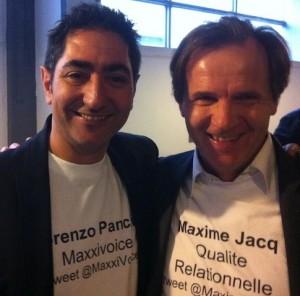 Lorenzo et Maxime au Web2Connect2012