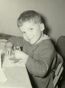 Maxime à 4 ans