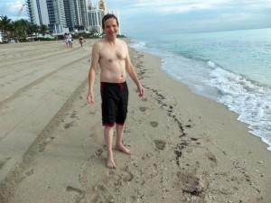 Une eau de mer à 28°, la température de l'air. Que du bonheur !