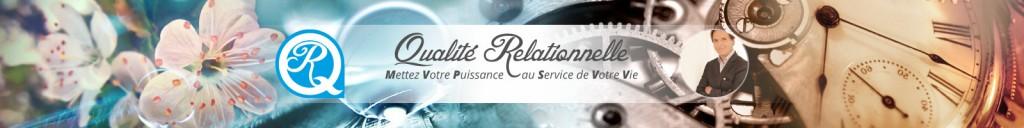 Bannière avec Logo Qualité Relationnelle